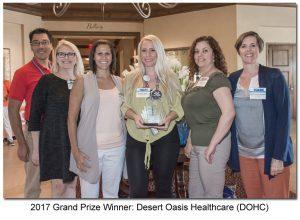 DOHC 2017 Grand Prize Winner