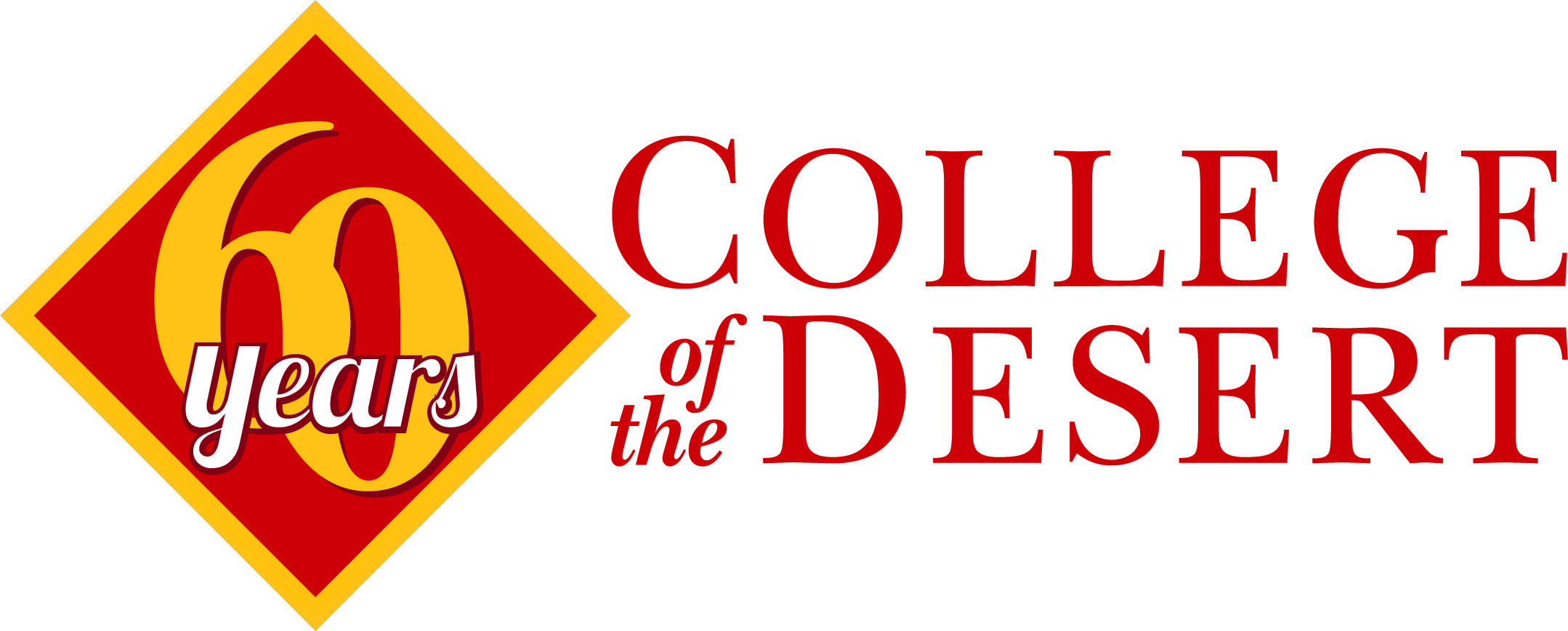 College of the Desert 60 years