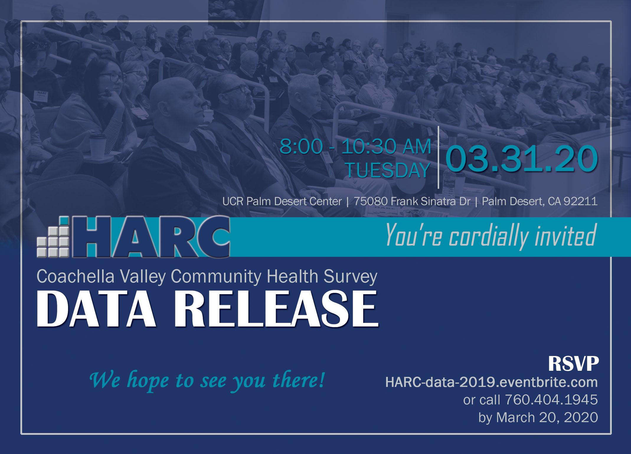 HARC 2019 Coachella Valley Community Health Survey Data Release