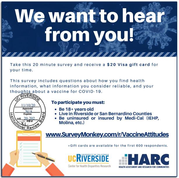 COVID-19 Vaccine Attitudes Survey